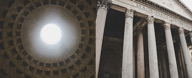 Pantheon Roman Temple Rome Italy Travel Guide Tour