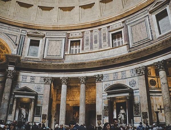 Pantheon Roman Temples Inside
