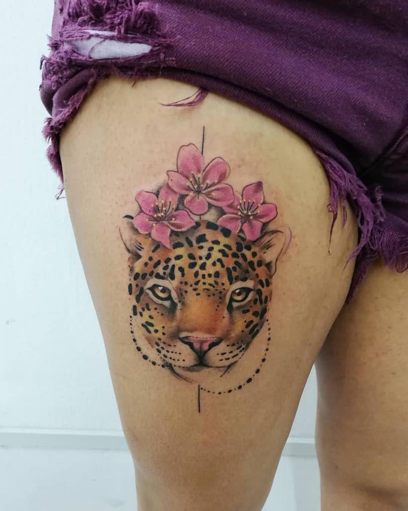 panthera-onca-color-work-jaguar-tattoo-corazondeorogt