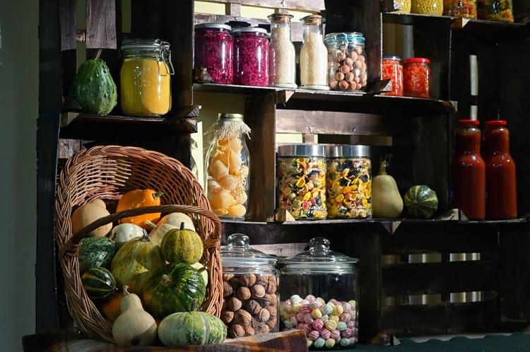 Pantry Jars Basement Food Storage