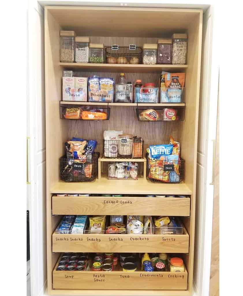 pantry kitchen organization ideas organize65