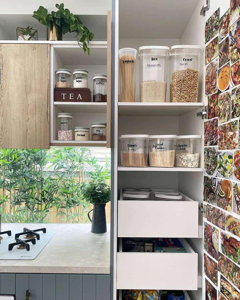 pantry storage ideas beyond.our.squares