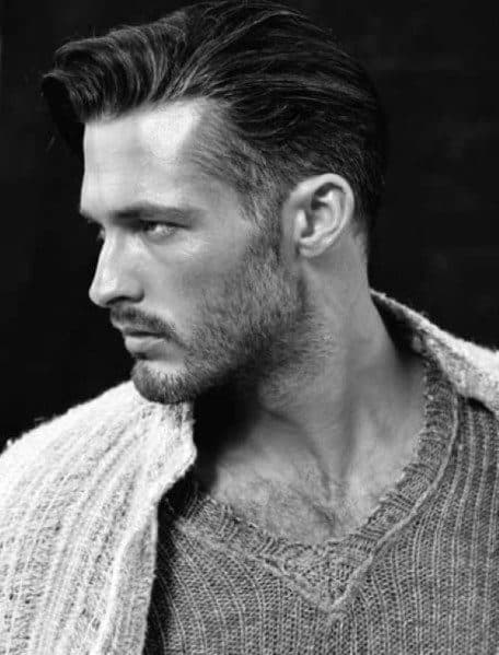 Parted Hairstyle For Men
