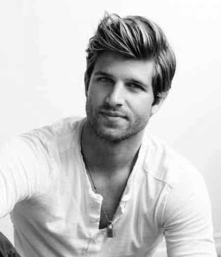 Parted Hairstyles For Men