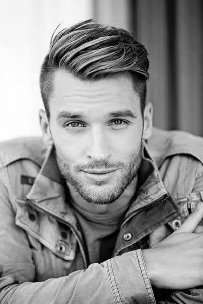 Parted Modern Guys Haircut Ideas