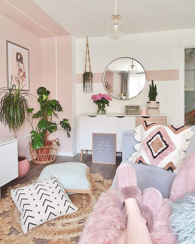Pastel Living Room Paint Ideas Caffeineandcacti