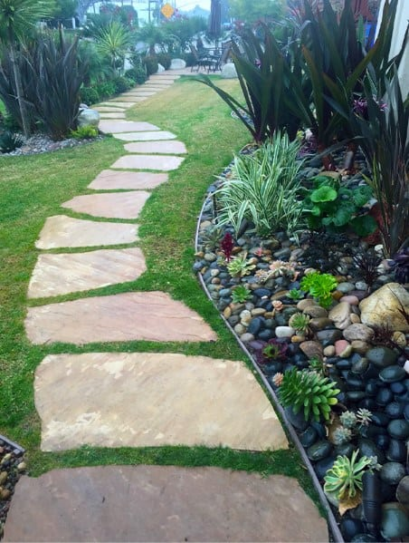 Path Ideas For Stepping Stone Exterior