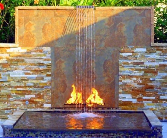 Patina Copper Awesome Backyard Waterfalls