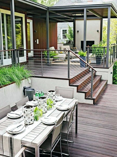 Patio Backyard Deck Design
