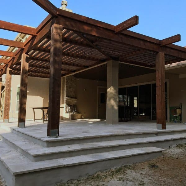 Patio Backyard Designs Pergola Ideas