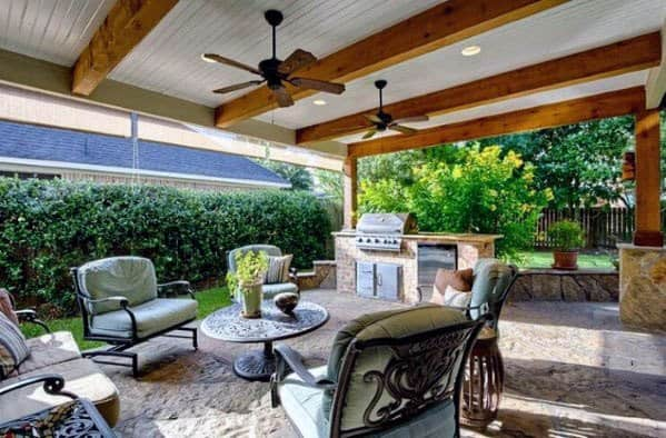 Patio Ceiling Cool Outdoor Ideas