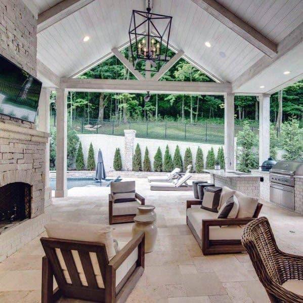 Patio Ceiling Design Idea Inspiration