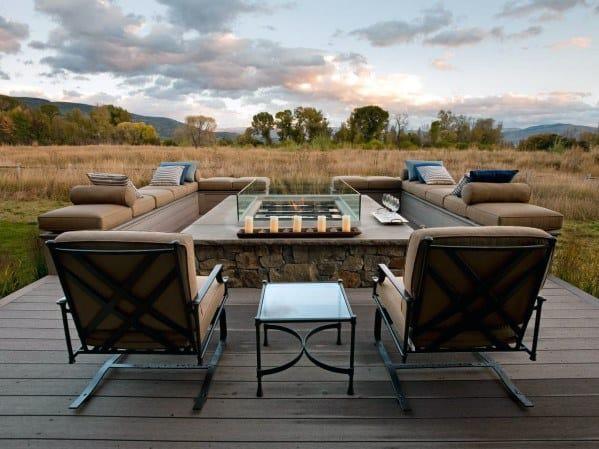 Patio Design Ideas For Deck Fire Pit