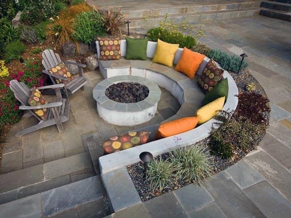 Patio Fire Pit Designs Ideas