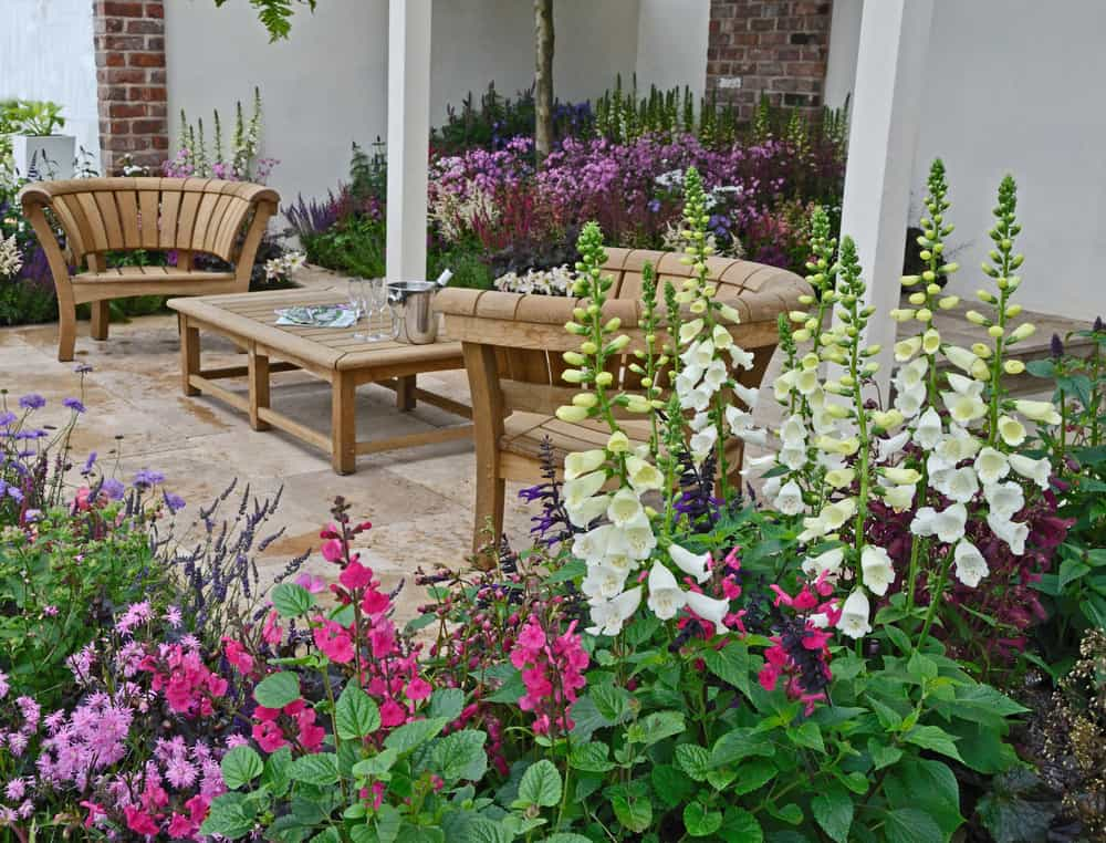 patio flower garden flower garden ideas 1