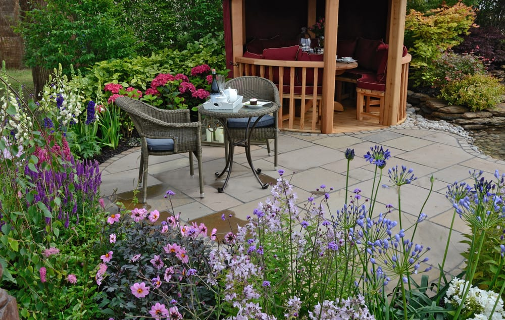 patio flower garden flower garden ideas 2