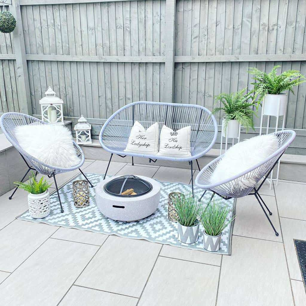 patio furniture small backyard patio ideas forevergreyhome