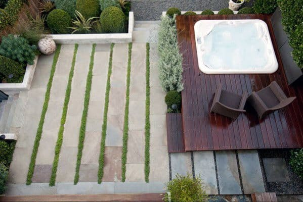 Patio Home Design Ideas Hot Tub Deck