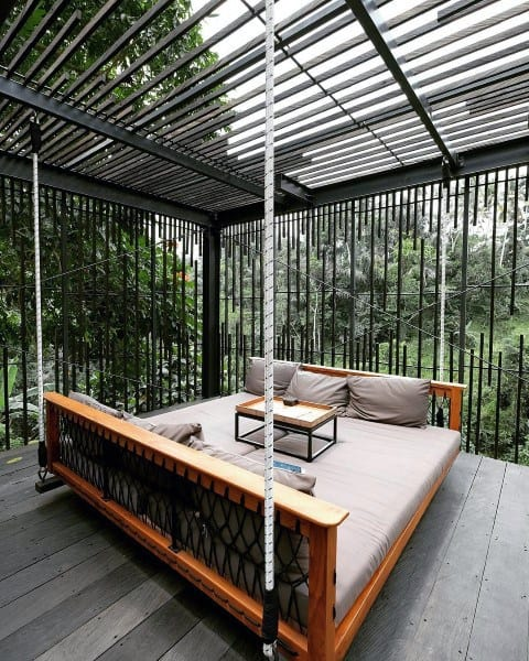 Patio Modern Hanging Bed Ideas