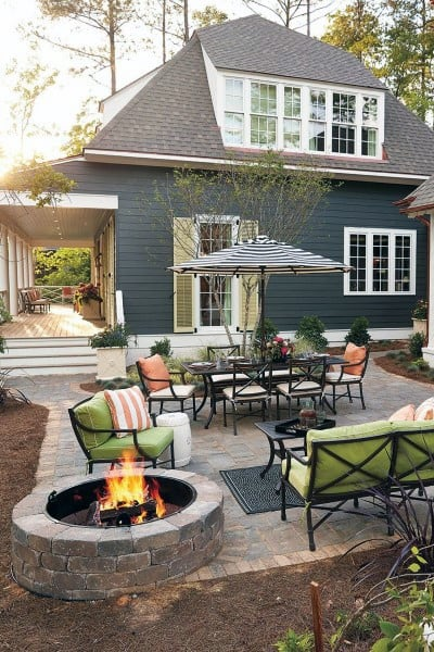 Top 60 Best Outdoor Patio Ideas Backyard Lounge Designs