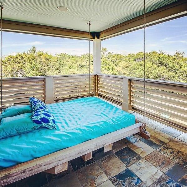 Patio Outdoor Hanging Bed Designs
