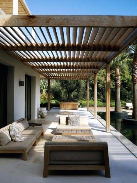 Patio Roof Backyard Ideas