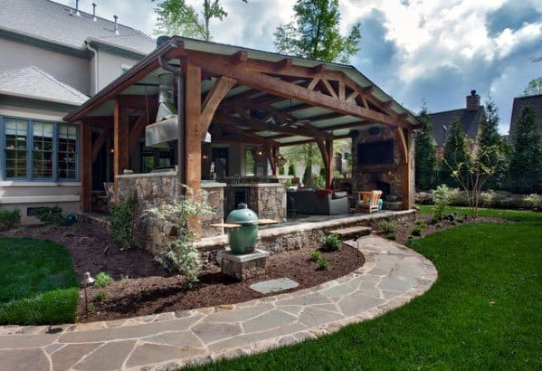 Patio Roof Design Idea Inspiration