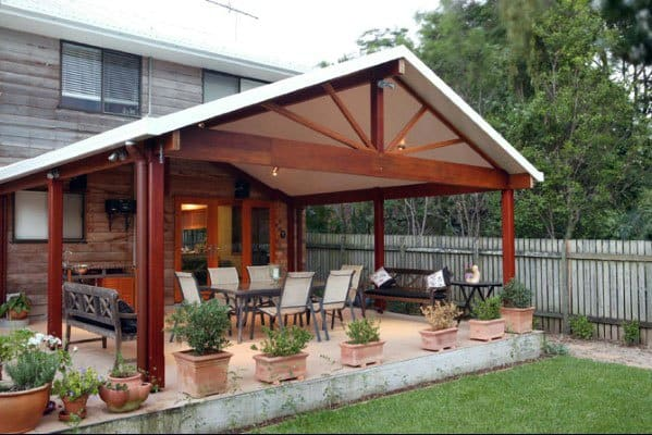 Merveilleux Patio Roof Design Ideas