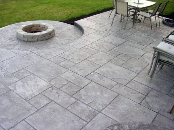 Patio Stamped Concrete Ideas