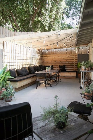 Patio String Light Design Ideas