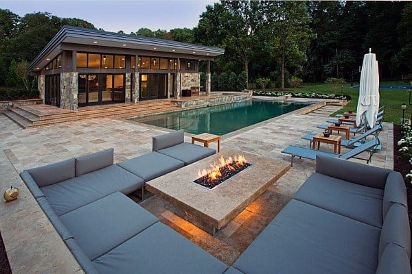 Patio With Fire Pit Ideas
