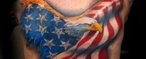 90 Patriotic Tattoos For Men – Nationalistic Pride Design Ideas