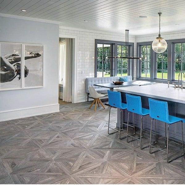 Pattern Hardwood Kitchen Flooring Ideas