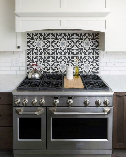 Pattern Kitchen Backsplash Design