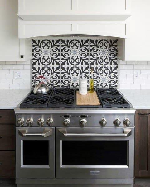 Pattern Kitchen Backsplash Design