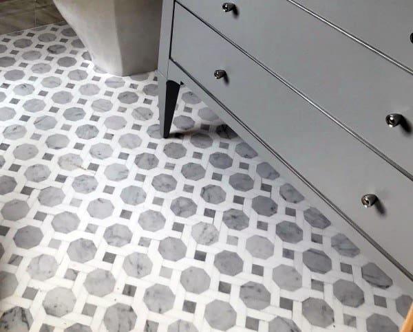 Pattern Luxury Bathroom Floor Designs