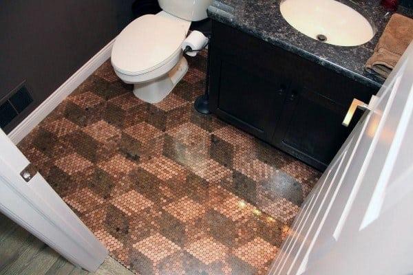 Pattern Penny Floor Designs
