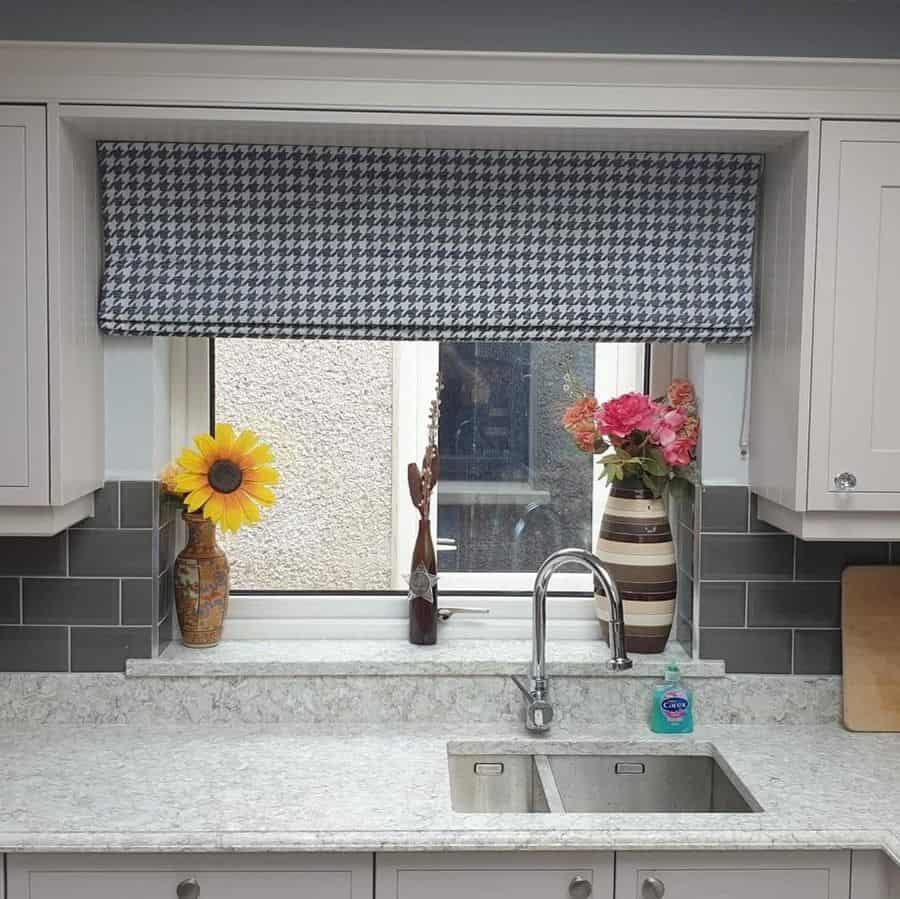 patterned kitchen curtain ideas mandiinteriors