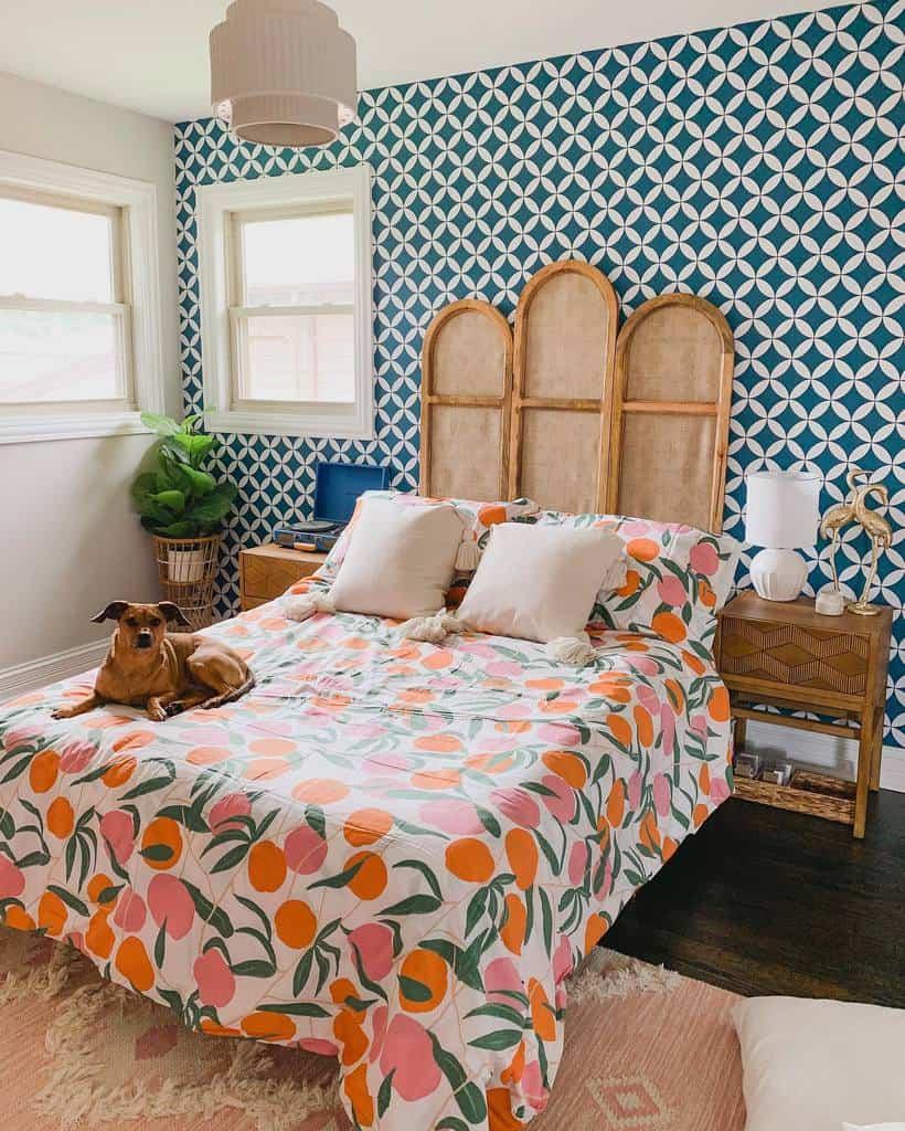 patterns bedroom wallpaper ideas crystalandcolor