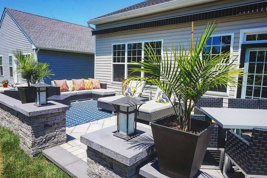 paved patio small backyard patio ideas creativedesignandmaintenance