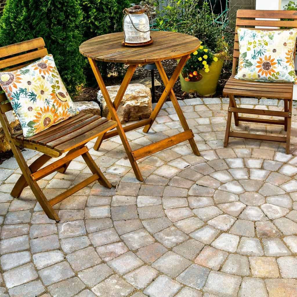 paved patio small backyard patio ideas outdoorartisan