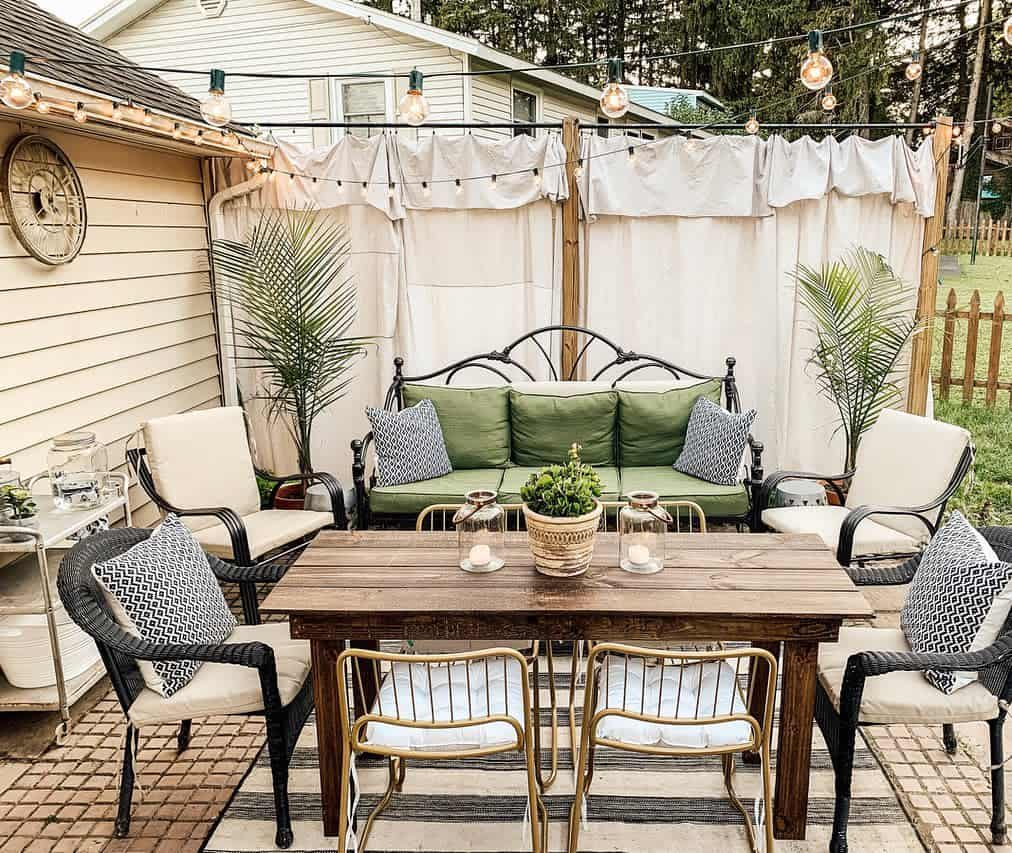 paved patio small backyard patio ideas updatemycape