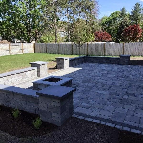 Top 60 Best Paver Patio Ideas - Backyard Dreamscape Designs on Small Backyard Paver Patio Ideas id=77110