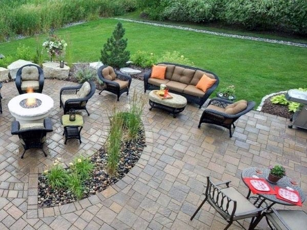 Top 60 Best Paver Patio Ideas - Backyard Dreamscape Designs