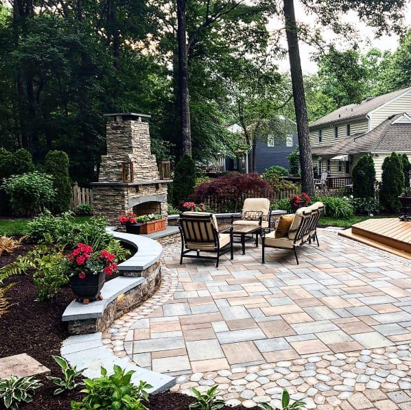 Paver Patio Design Inspiration