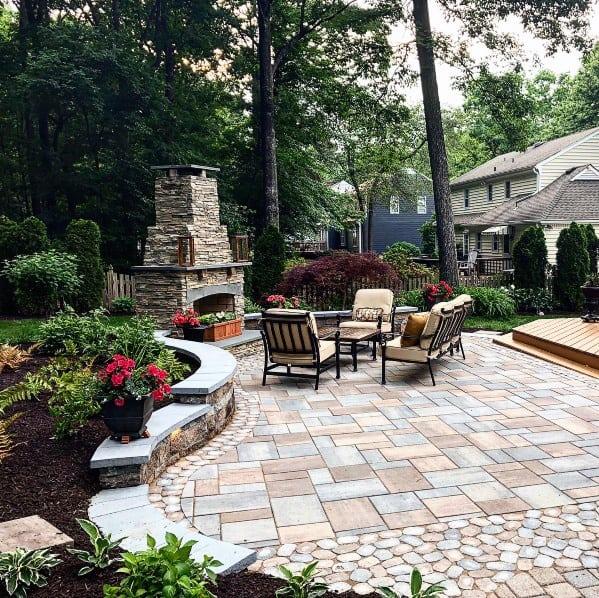 Top 60 Best Paver Patio Ideas - Backyard Dreamscape Designs on Paver Patio Designs id=50703