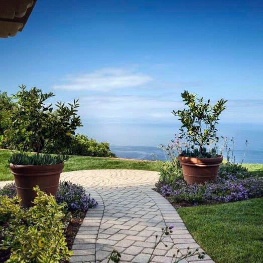 Paver Walkway Backyard Design Inspiration