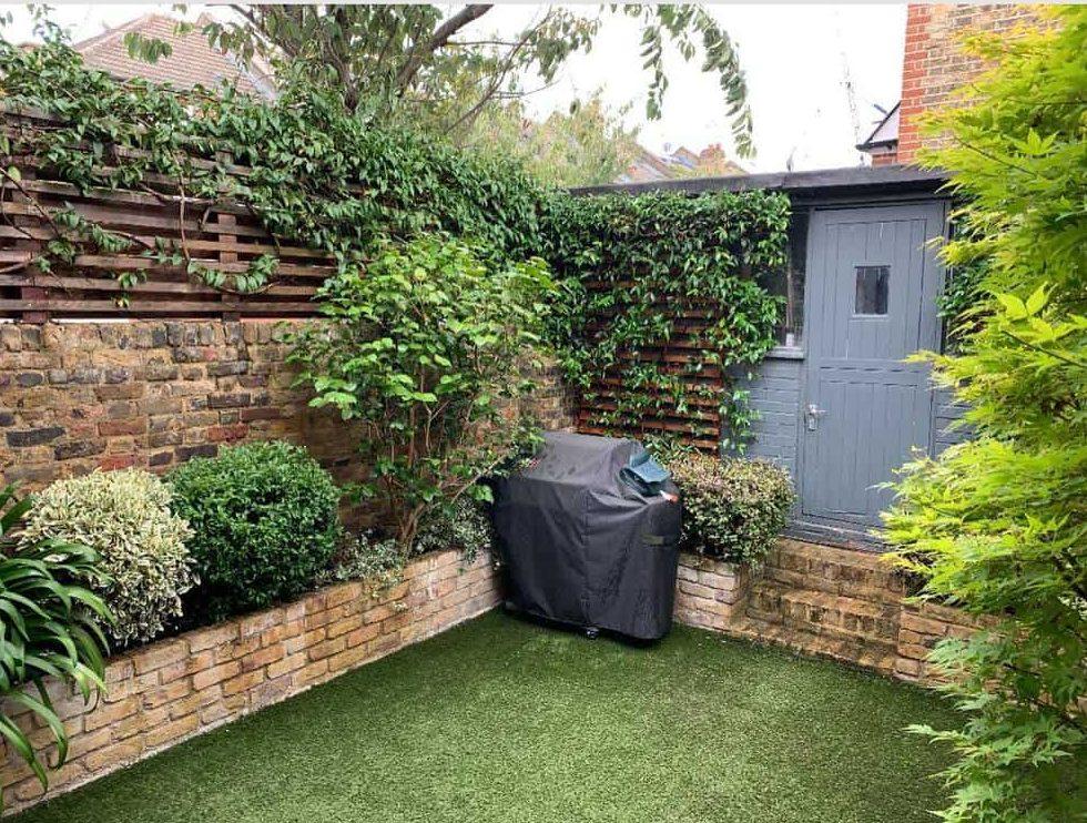 39 Garden Wall Ideas Landscaping Design, Patio Brick Wall Ideas