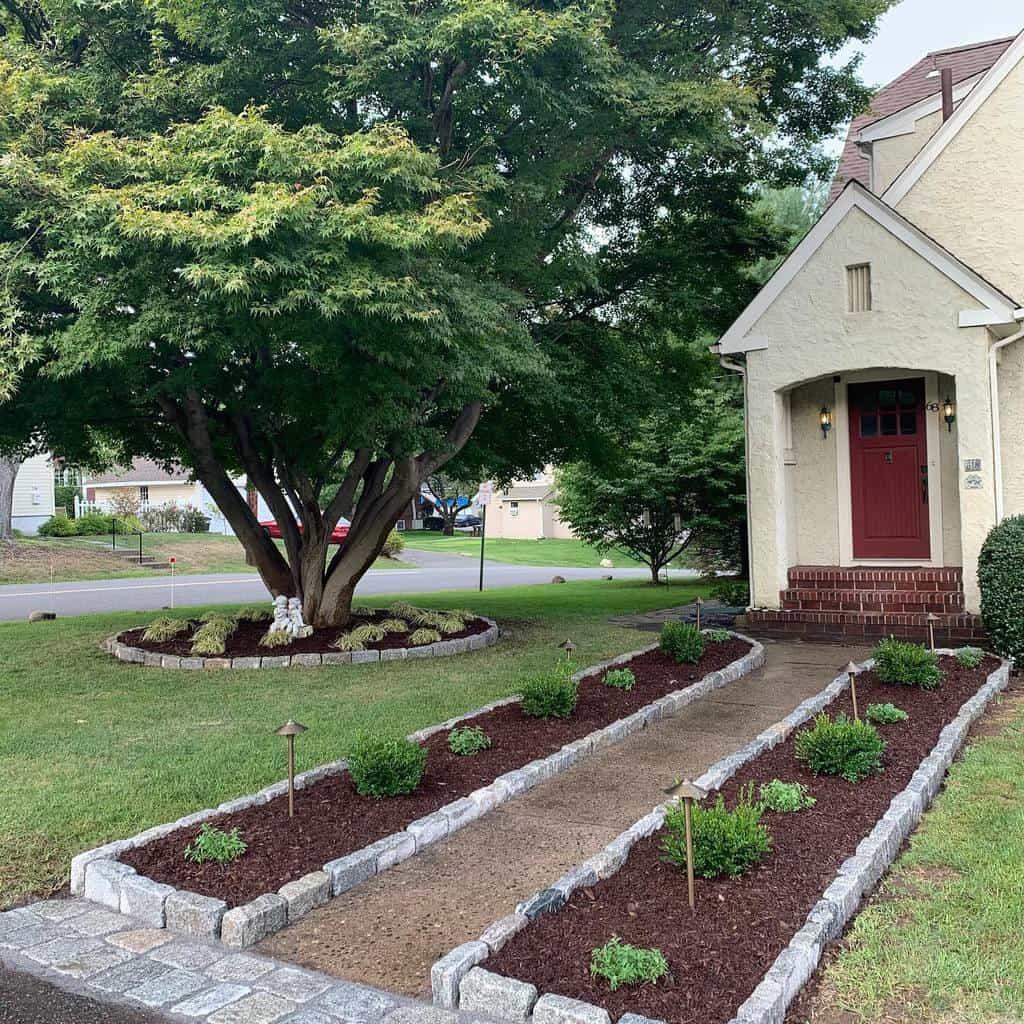 pavers garden edging ideas terratechlandscapedesign