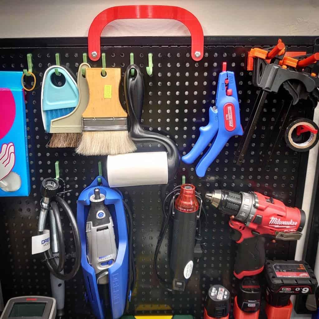 pegboard work bench ideas my_maker_affair